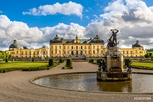 Picture of Drottningholm palace